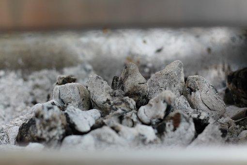 Bbq, Coals, Charcoal, Burnt, Texture, Pattern, Ash