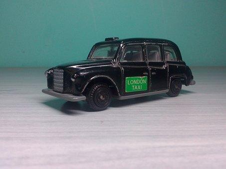 Game, Game Car, Car, Taxi, London Taxi, London, Black