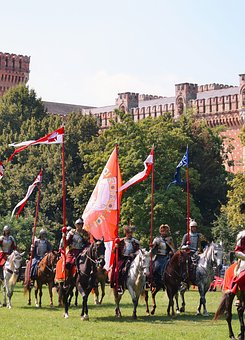 Knight, Castle, Horse, Middle Ages, Ritterruestung