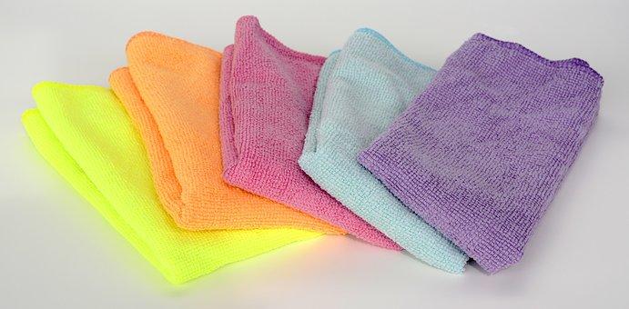 Micro-fiber Cloth, Clean, Cleaning Rags, Make Clean