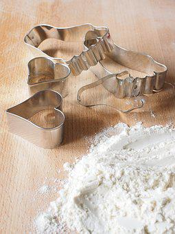 Cookie Cutter, Bake, Flour, Preparation