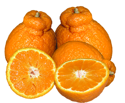 Mandarins, Citrus, Fruit, Healthy, Food, Cut Out