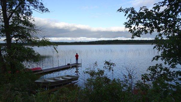 Fish, Man, Water, Lake, Fishing, Angler, Patience
