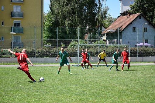 Football Match, Play, Football, Rush, Football Player