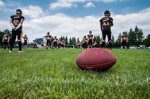 Football, Sport, Stadion, Grass, Training