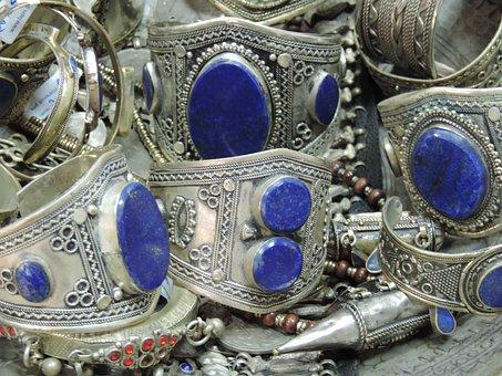 Jewellery, Afghanistan, Jewelry, Ethnic, Lapis Lazuli