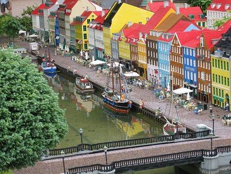 Lego, Legoland, Copenhagen, Nyhavn