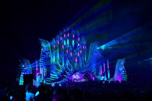 Dj, Party, Music, Light Show, Show, Dance, Vitality