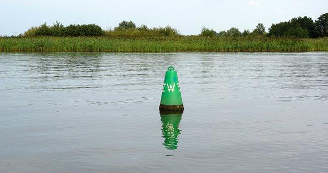 Scheepvaartmarkering, Marking, Lateral Marking