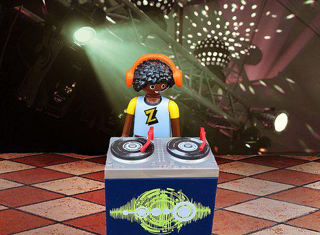 Dj, Music, Disk Jockey, Rap, Club, Disco, Entertainment