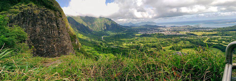 Nuʻuanu Pali, Lookout, Outlook