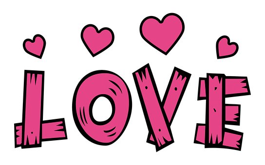 Text, Love, Hearts, Pink, Love Heart, Valentine