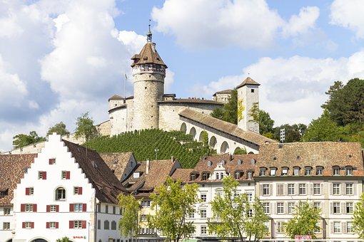 Munot, Schaffhausen, Fortress, Castle, Vineyard