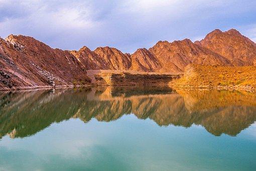 Dam, Water, Sky, Environment, Mountain, Hydro, Green