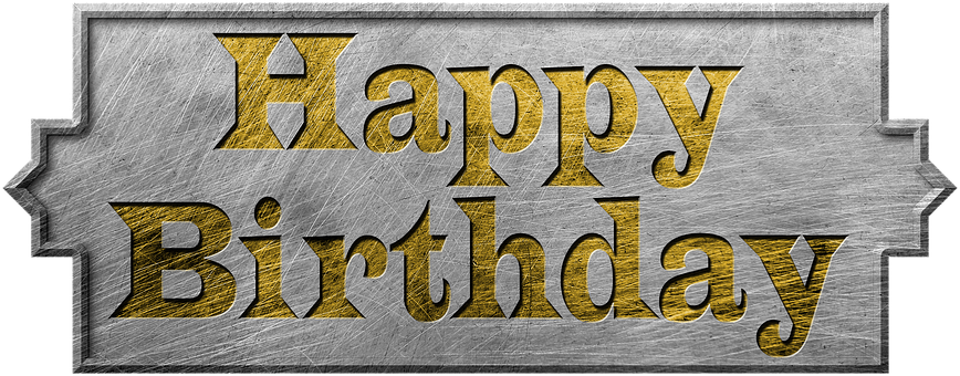 Shield, Metal, Birthday, Png, Happy Birthday, Steampunk