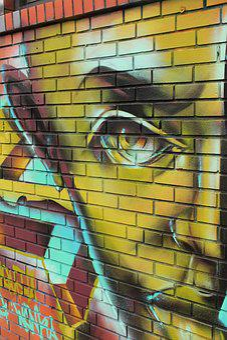 Graffiti, Art, Street Art, Alien, Urban, Street, City