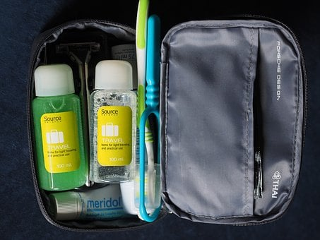 Travel, Travel Accessories, Toothbrush, Shower Gel