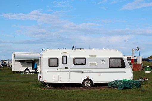 Caravan, Camping, Campsite, Holiday, Live, Outdoor