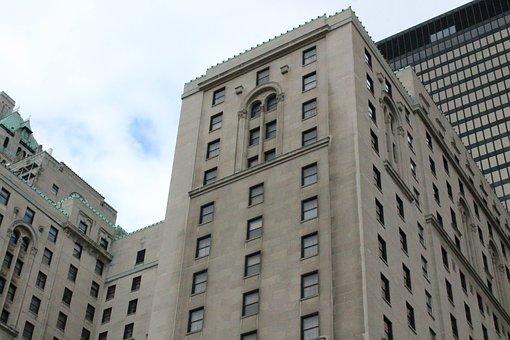 Toronto, Hotel, Low Shot, Canada, City, Building