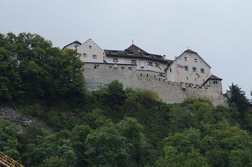 Liechtenstein, Vaduz Satellite, City Walls