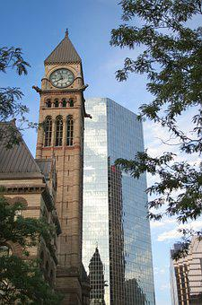 Downtown, Toronto, City Hall, City, Architecture