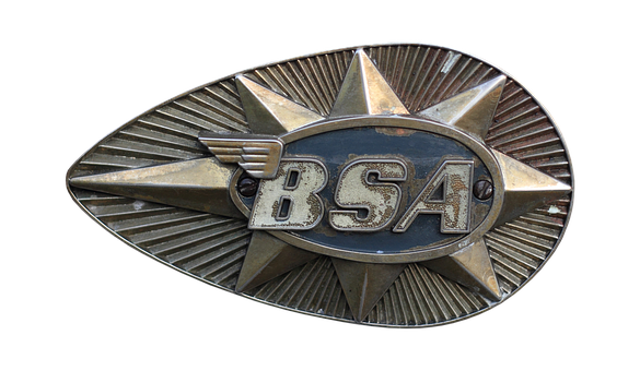 Emblem, Tank, Page, Bsa, Krad, Motorcycle, Old