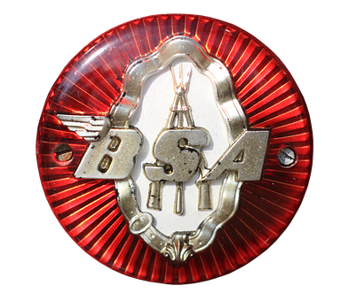 Emblem, Logo, Bsa, Motorcycle, Oldtimer, Symbol