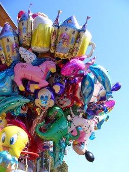 Balloon, Colorful, Fun, Folk Festival, Helium