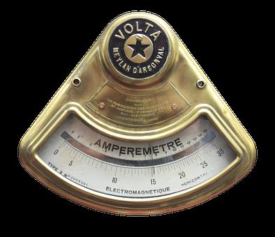 Amp, Ammeter, Electricity, Current, Gauge, Scale