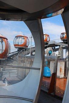 Guangzhou, Mono Rail, Tower, China, City, Asia, Chinese