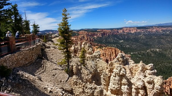 Bryce Canyon National Park, Utah, Hoodoos, Landscape