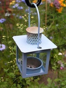 Lamp, Garden, Candle Holder