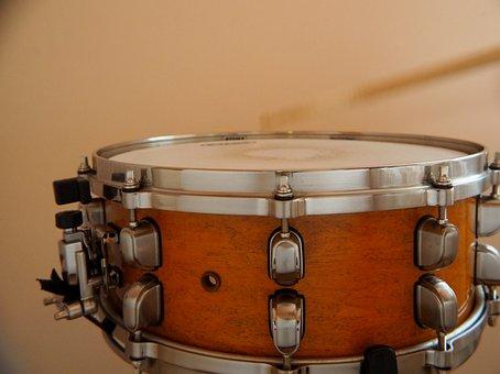 Drums, Drum, Snare Drum, Music, Musical Instrument