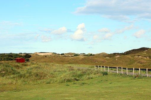 Dunes, North Sea, Dune Landscape, Landscape, Nature