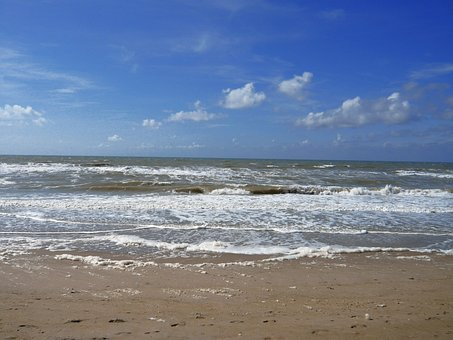 Wind, France, Sky, Nature, Stroll, Sand, Landscape, Sea