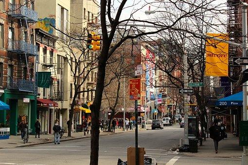 Soho, New, York, Winter