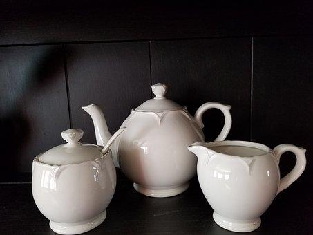 Serve, Tea, Traditional, Ceramic, Service
