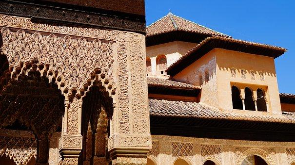 Spain, Granada, Journey, Sunny Day, Style, Alhambra