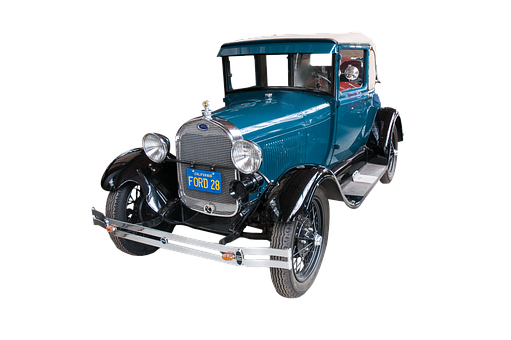 Model T, Ford, Old, Car, Classic, Cut Out, Antique