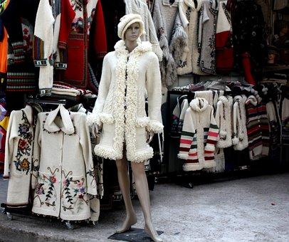 Budva, Mannequin, Winter, Knitting Wool, Beautiful