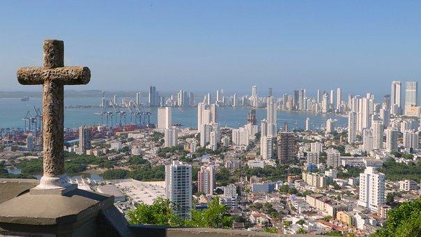 Caribbean, Colombia, Cartagena, Holiday, Castle