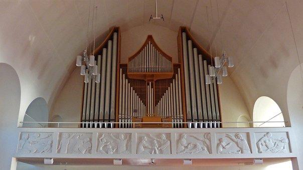 Akureyri, Iceland, Church, Organ