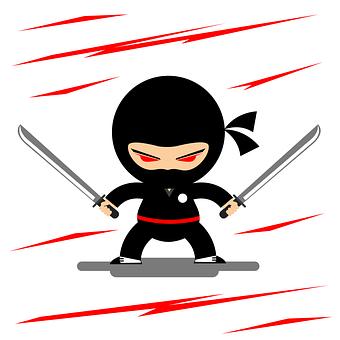 Ninja, Guerrero, Eastern, Japan, Temple, East