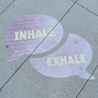 Street Art, Breathe, Inhale, Exhale, Street