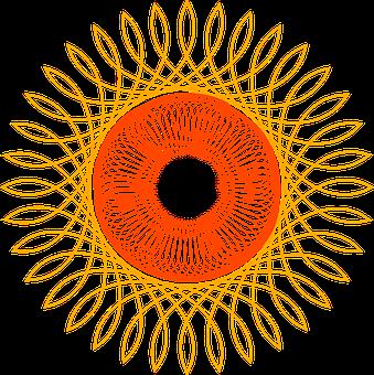 Spirograma, Geometric, Spirograph, Figure, Free Image