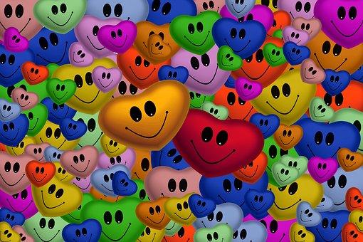 Heart, Love, Smile, Smilie, Valentine's Day
