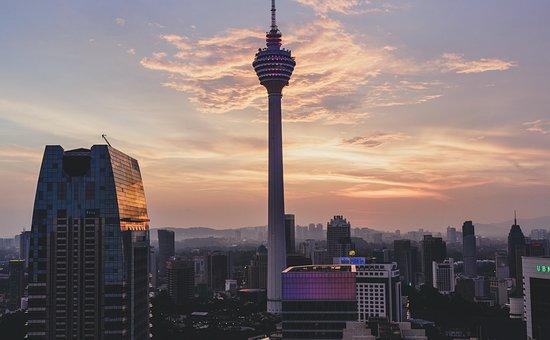 Kuala Lumpur, Kl Tower, Sunset, City, Malaysia, Asia