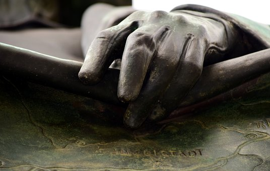 Hand, Bronze, Art, Sculpture, Finger, Figure, Artwork