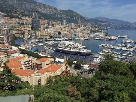 Monaco, Port, Ships, Boat, Ship, Boating, France
