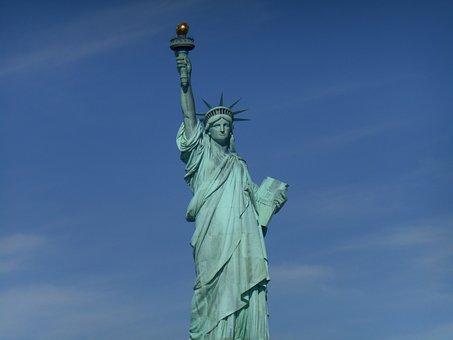 Statue Of Liberty, Statue, History, Historic, Liberty